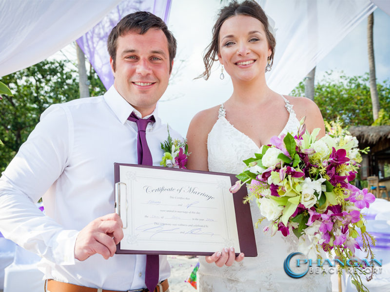 Beach Weddings Certificates