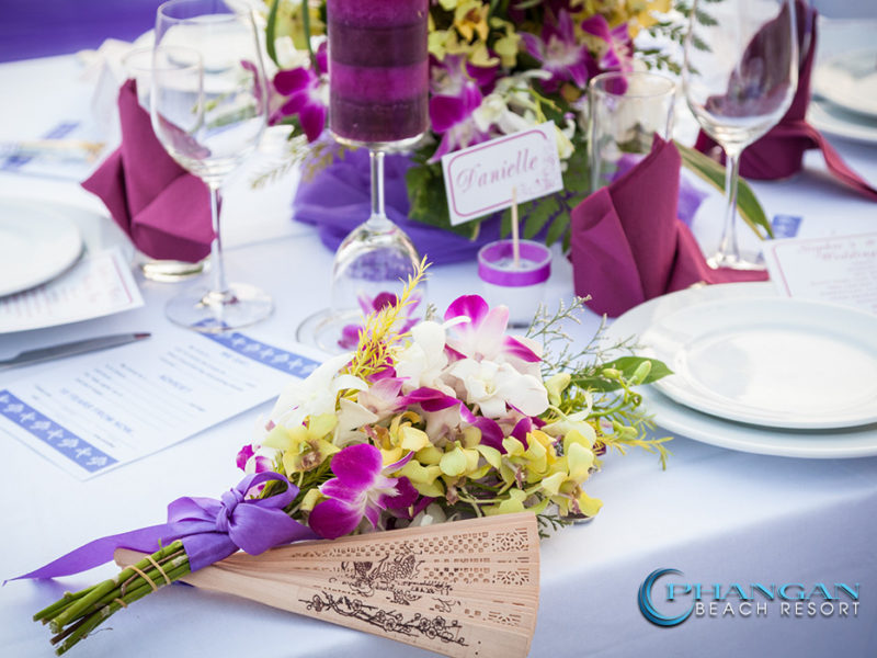 Beach Weddings Table Decorations