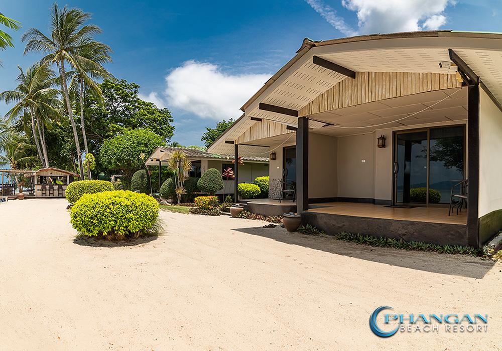 koh phangan beach front bungalow